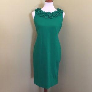 Taylor Dress in Kelly Green